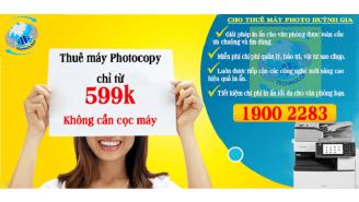 Cho thuê máy photocopy màu giá rẻ tại Bình Dương