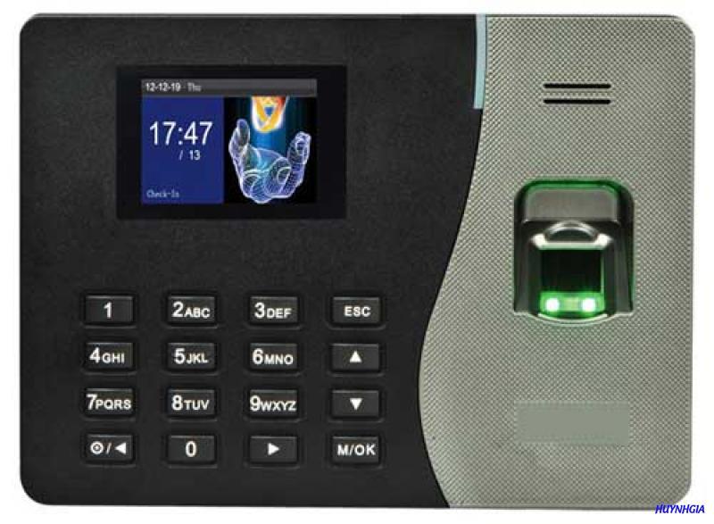 Máy châm công vân tay và thẻ Zkteco K14